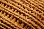 Skein Of Coarse Brown Thread