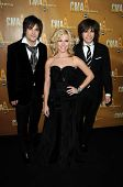 The Band Perry at the 44th Annual CMA Awards, Bridgestone Arena, Nashville, TN.  11-10-10