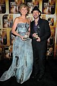 Sugarland  at the 44th Annual CMA Awards, Bridgestone Arena, Nashville, TN.  11-10-10