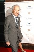 Clint Eastwood  at the Inaugural Museum Of Tolerance International Film Festival Gala Honoring Clint