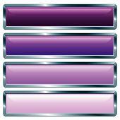 Long Metallic Violet