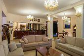 Five stars Luxurious Hotel Lobby