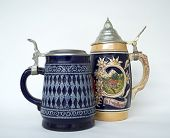 stock photo of stein  - Beer Stein - JPG