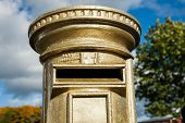 Royal Mail Gold Post Box