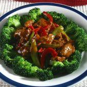 Beef and brocoli