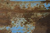 Used Metal Surface Rusty Background
