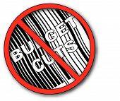 No Symbol With Barcode N No Budget Cut.