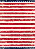 American grungy Flag. An american background for your patriotic poster