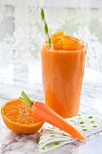 Orange And Carrot Smoothie