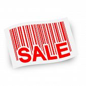 Flag With Barcode -  Sale
