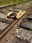 Railroad Car Derailer Safety Device 1