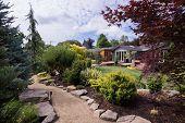Garden Walkway Home