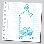 Brain in bottle