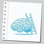 Brain and ladder