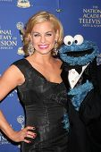 LOS ANGELES - JUN 20:  Jessica Collins, Cookie Monster at the 2014 Creative Daytime Emmy Awards at t