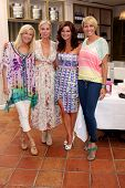 LOS ANGELES - JUN 21:  Katherine Kelly Lang, Eileen Davidson, Heather Tom, Arianne Zucker at the Lea