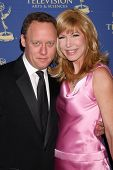 LOS ANGELES - JUN 20:  Steven Fenton, Leeza Gibbons at the 2014 Creative Daytime Emmy Awards at the