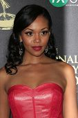 BEVERLY HILLS - JUN 22: Mishael Morgan at The 41st Annual Daytime Emmy Awards at The Beverly Hilton