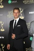 BEVERLY HILLS - JUN 22: Justin Hartley at The 41st Annual Daytime Emmy Awards Press Room at The Beve