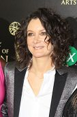 BEVERLY HILLS - JUN 22: Sara Gilbert at The 41st Annual Daytime Emmy Awards at The Beverly Hilton Ho