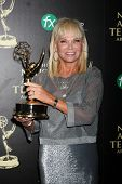 LOS ANGELES - JUN 22:  Linda Bell Blue at the 2014 Daytime Emmy Awards Press Room at the Beverly Hil