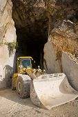 Marble Quarry Entrance In Carrara