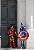 Superheroes In Lucca
