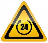 Twenty four hour sign