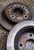 Old brake discs