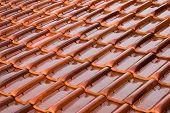 Orange Roofing Tiles