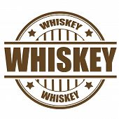 Whiskey Stamp