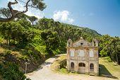 Chapel Santa Lucia On Cap Corse In Corsica