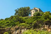 Chapel Santa Catalina On Coast Of Cap Corse In Corica