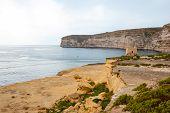Cliffs At Xlendi, Gozo, Malta