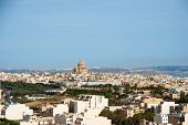 View Over Victoria, Gozo Island, Malta