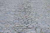 cobblestones on street as background