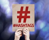 stock photo of hashtag  - Hashtag Icon with  - JPG