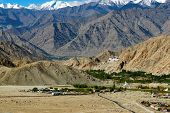 picture of jammu kashmir  - Rocky mountains of Ladakh Jammu and Kashmir India - JPG