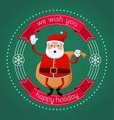 Happy Holiday From Santa