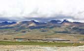 mountain landscape in tibet