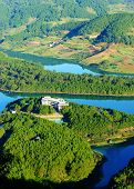 Fantastic Landscape, Eco Lake, Vietnam Travel