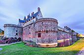 Chateau Des Ducs De Bretagne In Nantes