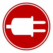 Power Cord Sign Button