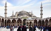New Mosque In Istanbul.