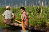 Life In Inle Lake,Myanmar.