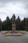 Monument to V. I. Lenin near the Building of administration of the region. Suzdal, Golden Ring Russi