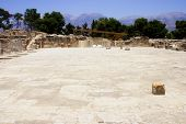 Central Courtyard Phaistos Crete