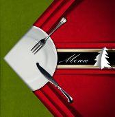 Christmas Restaurant Menu