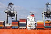 Bridge Of a container ship