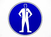 Clothing Protective Workwear Sign
